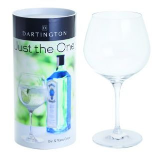 Engraved Gin & Tonic Copa - Just The One