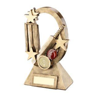 Resin Cricket Award JR6-RF736
