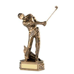 Golfer in Swing GR093