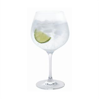 Engraved Gin & Tonic Copa Glass