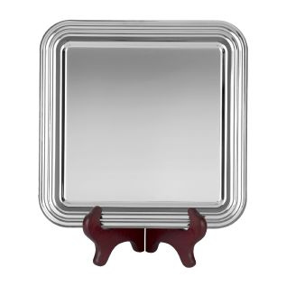 Heavy Gauge Nickel Plated Square Tray S9
