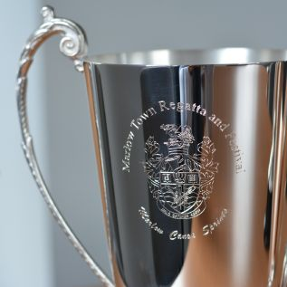 Thistle Wreath Silver Sports Cup 54