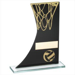 Glass Netball Award JR16-TD232