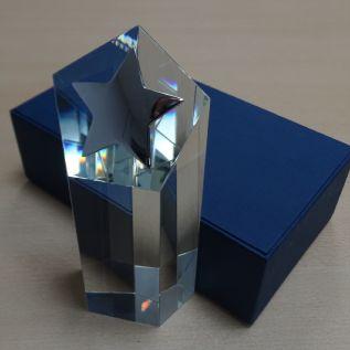 Crystal Metal Star Award AC117
