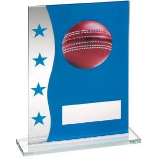 Glass Cricket Award JR6-TD646