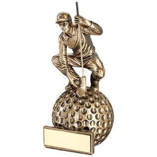 Resin Male Golf Award JR2-RF258