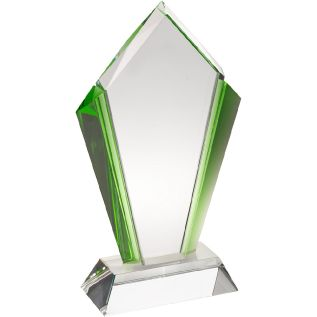 Clear and Green Glass Award JB2003