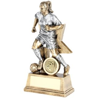 Female Football Trophies JR1-RF172