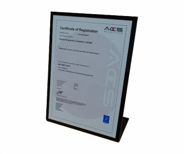 Free Standing ISO Certificate