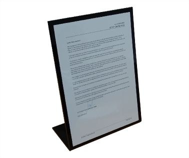 Free Standing Document Display - Quality Statement