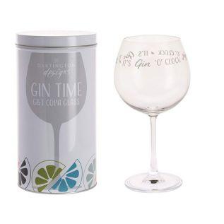 """""""Gin O'Clock"""" Copa Glass"""