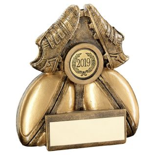 Rugby Ball Trophy JR4-RF854