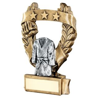 Martial Arts Robe Trophy JR11-RF491