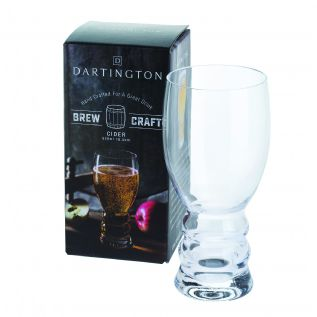 Engraved Cider Glass - Dartington Brew Craft