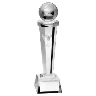 Glass Football Trophy JR1-TD301G