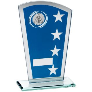 Glass Cricket Award JR6-TD249