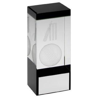 Cricket Glass Award JR6-TD606G