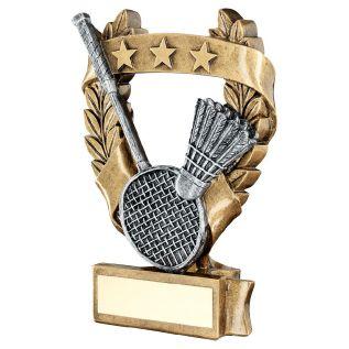Glass Badminton Award JR26-TD489