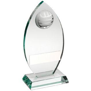 Glass Netball Award JR16-TD447