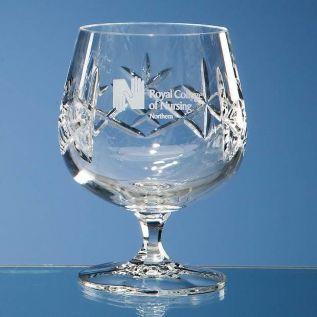 Personalised Brandy Glass - Crystal
