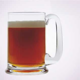 Engraved Glass Tankard - Dartington Real Ale