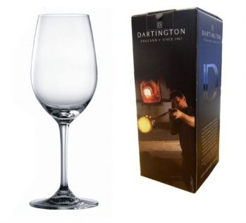 Engraved White Wine Glass - Dartington Orbit