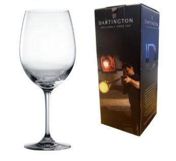 Engraved Red Wine Glass - Dartington Orbit
