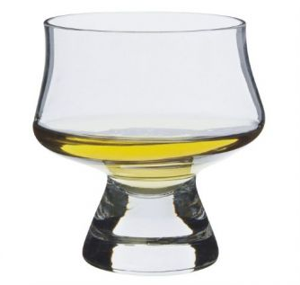 Engraved Whisky Tumbler - Dartington Armchair Sipper