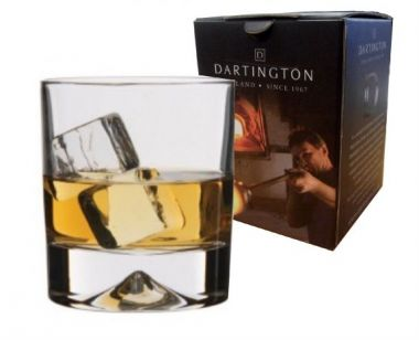 Engraved Whisky Tumbler - Dartington Dimple
