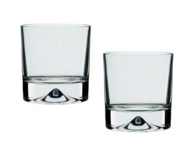 Engraved Whisky Pairs - Dartington Dimple