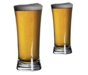Personalised Bar Excellence Beer Glasses (pair)