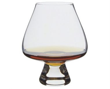 Engraved Brandy Glass - Dartington Armchair Swirler