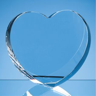 Free Standing Heart Shaped Paperweight
