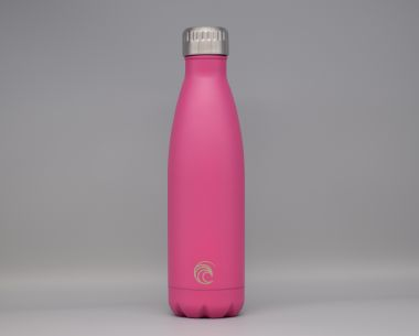 Pink Stainless Steel Drinks Bottle