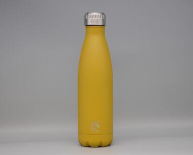 Mustard Stainless Steel Drinks Bottle