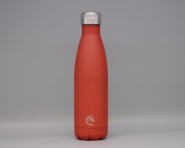 Red Stainless Steel Drinks Bottle