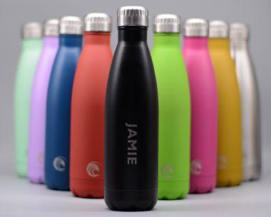 Lavender Stainless Steel Drinks Bottle