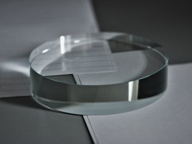 Round Glass Disc