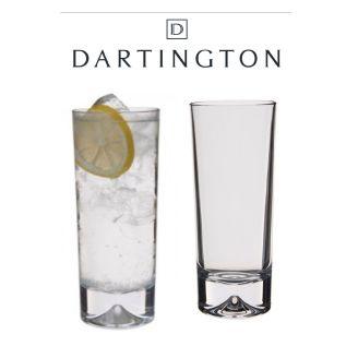 Engraved Highball Glasses - Dartington Dimple (Pair)