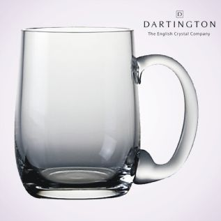 Engraved Glass Tankards - Dartington Falstaff
