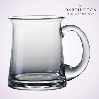 Engraved Glass Tankard - Dartington Torrington