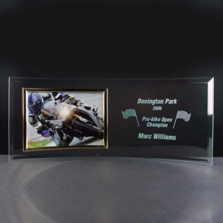 "Curved Photo Frame 7"" x 5"""
