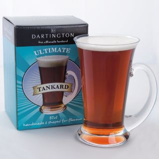 Personalised Glass Tankard - Dartington Ultimate