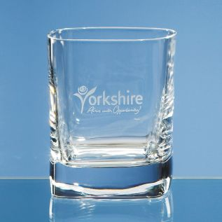 Personalised Whisky Glass - 10oz Strauss Sq.