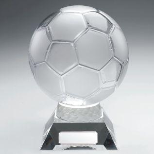 Glass Football Trophy JR1-JB200