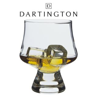 Engraved Whisky Glass - Dartington ArmChair Snifter