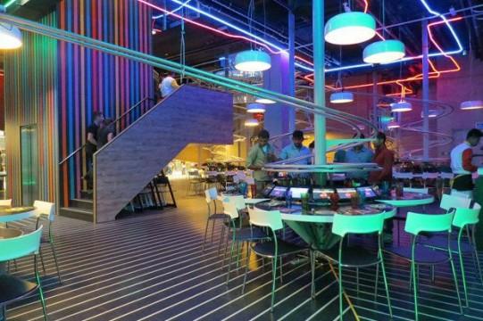 UAE Roller Coaster Restaurant