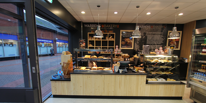 Warrens Bakery Counter