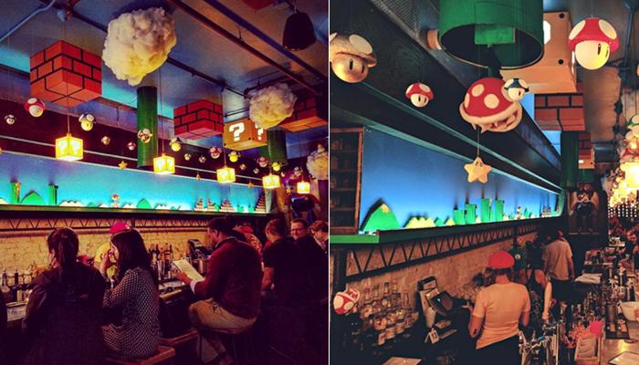 Mario Bar Area