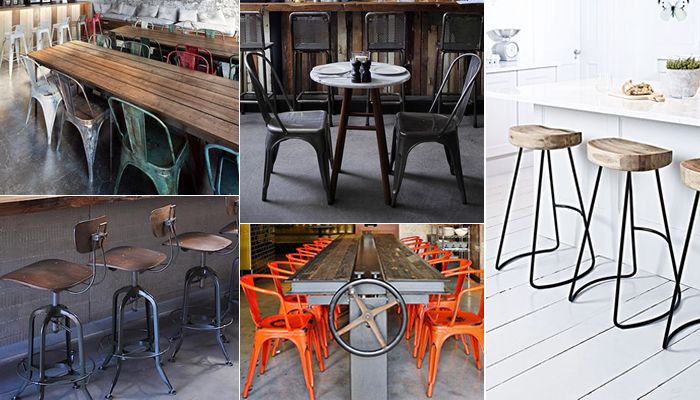 Loft Look Cafe Chairs